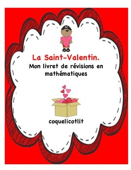 Valentine's day: cahier de révisions en math.