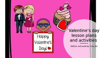 Valentines day lesson plans, and inspiration