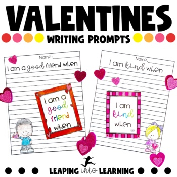 Valentines day writing prompts for kids
