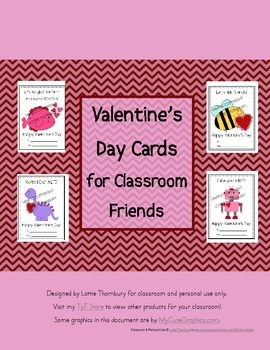 Valentine's for Classroom Friends