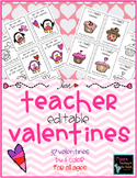 Valentines for Students From Teacher