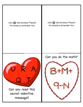 Valentines for Students & Teachers