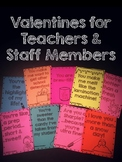 Valentines for Teachers & Staff Members