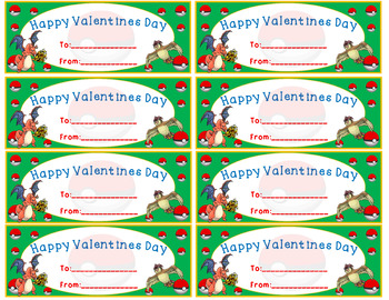Valentines (freebie for boys and girls)