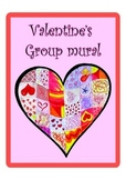 Valentine's group mural