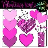 Valentines heart clip art