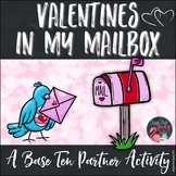 Place Value Activity Tens and Ones Valentines in My Mailbox