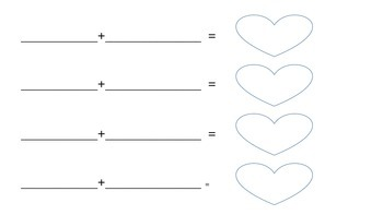 Valentine's -le Syllable Puzzles
