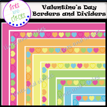 Valentines's Day- Borders and Dividers