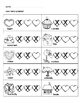 Valentines syllables