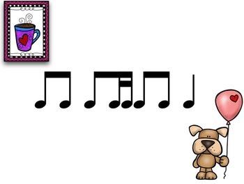 Valentines with Cat & Dog Tadimi / Titika / Titiri {Interactive Rhythm Game}