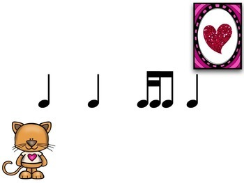 Valentines with Cat & Dog Takadi / Tikati / Tiriti {Interactive Rhythm Game}