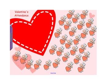 Valentine's/Febuary  AttendanceFebruary