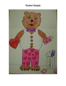 Valentino the Valentine Bear - A Valentine's Day / February Listening Activity