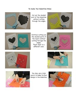 Valentine's Day Craft: Valentines with Molas