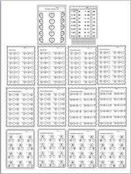 Valentine's Math Worksheet Packet