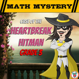 3rd Grade Valentine's Day Math Mystery Activity