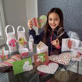 Valentine's Day SUPER SALE craft activity pack for kids