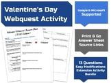 Valetine's Day Webquest