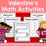 Valetine's Math Activities
