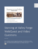 Valley Forge Webquest with Video