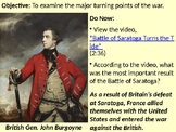 Valley Forge and the Battle of Saratoga PowerPoint Presentation