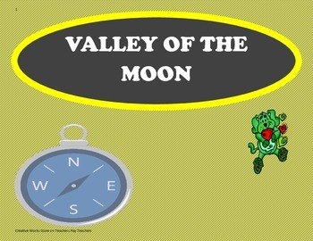 Valley of the Moon - Tri-folds + Activities ( 4th Grade) R