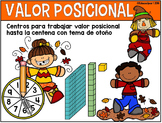 "Valor Posicional - 5 ""mats""o centros para trabajar valor p"
