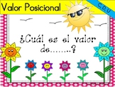 Valor Posicional - Place Value Task Cards - Unidades, decenas y centenas