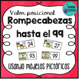 Place Value Puzzles in Spanish