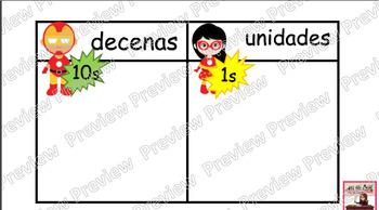 Valor Posicional (unidades y decimas)