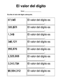 Valor posicional / Place value