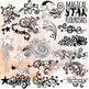 Value Bundle: Stars ClipArt, Digital Stamp, Silhouette Celebration LineArt
