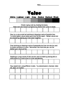 Value Grey Scales