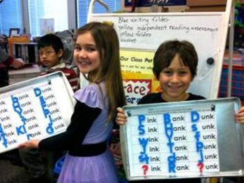 Value Pack! Let's Make Words! Word Family Literacy Station Activities