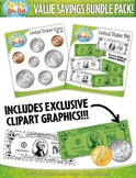 Money Clipart Mega Bundle {Zip-A-Dee-Doo-Dah Designs}