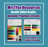 Art Beginner Acrylic Painting Color Theory & Technique Middle High School Art