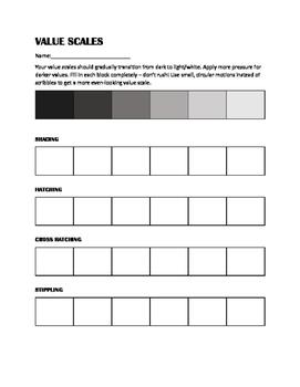 Image result for shading art worksheets | Art lessons | Pinterest ...