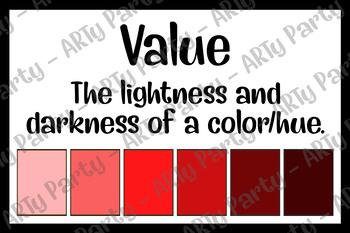Value - Tones/Tints/Shades - Poster Bundle!