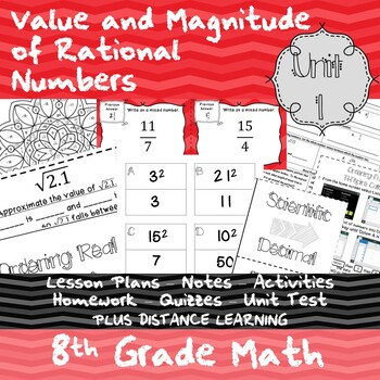 Value and Magnitude of Real Numbers - (8th Grade Math TEKS