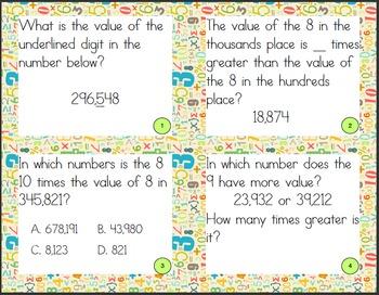 Value in Multi-Digit Numbers