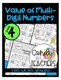 Value of Multi-Digit Numbers