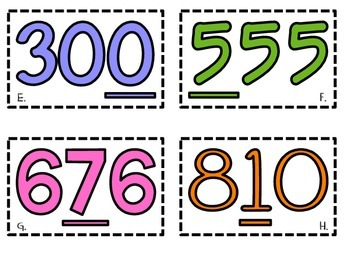 Value of a Digit SCOOT!
