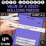 Value of a Digit through Millions Period -  Set 5.2 {Math Ladders}