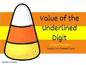 Value of the Underlined Digit Scoot