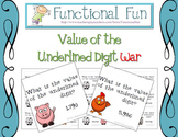 Value of the Underlined Digit War