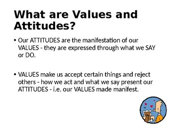 Values, Attitudes and Beliefs