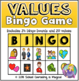 Values Bingo Game and Lesson Plan