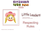 RESPECTING RULES  helps kids appreciate rules in the classroom.