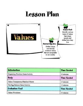 Values Lesson